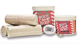 Boot Camp Body Wrap - 500ml or 1 Litre tubs available from £39.95.  http://www.slimmingsolutions.co.uk/body-wrap-kit-slimming-wraps.html