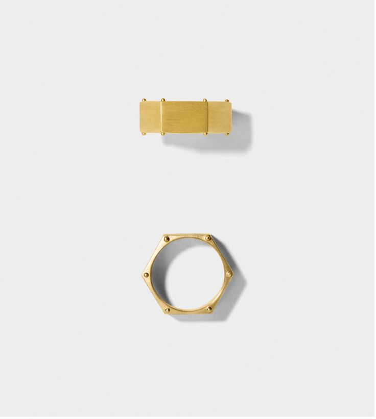LINE&JO - Miss Gold Renita Ring