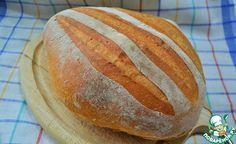 Французский сельский хлеб ингредиенты