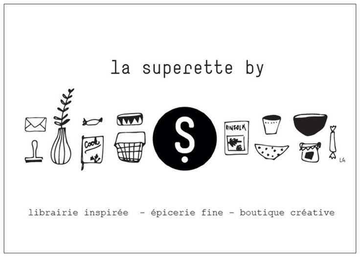 carte promotionnelle - la superette by sérendipité - by Lara Grandchamp