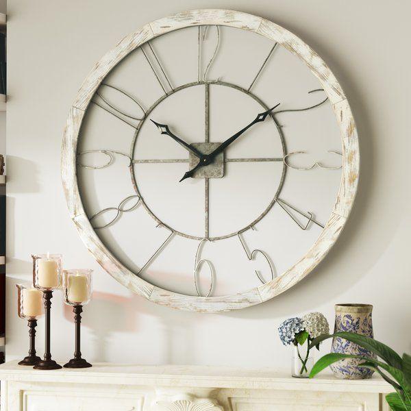 Oversized Hartfo 39 Wall Clock Wall Clock Oversized Wall Clock
