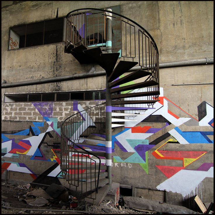 Livre : Mausolée, la résidence artistique sauvage de Lek et Sowat - Reportages - Street-art et Graffiti   FatCap