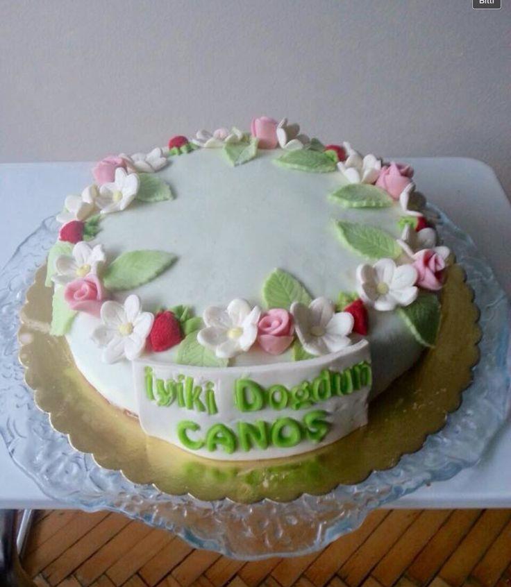 Canan'ın doğum günü pastası..