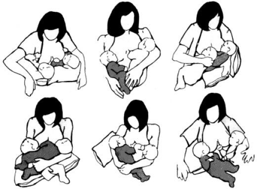 Breastfeeding Twins - How to Breastfeed Two Babies or More