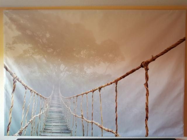 Resultado de imagen de mural ikea puente colgante | Puente
