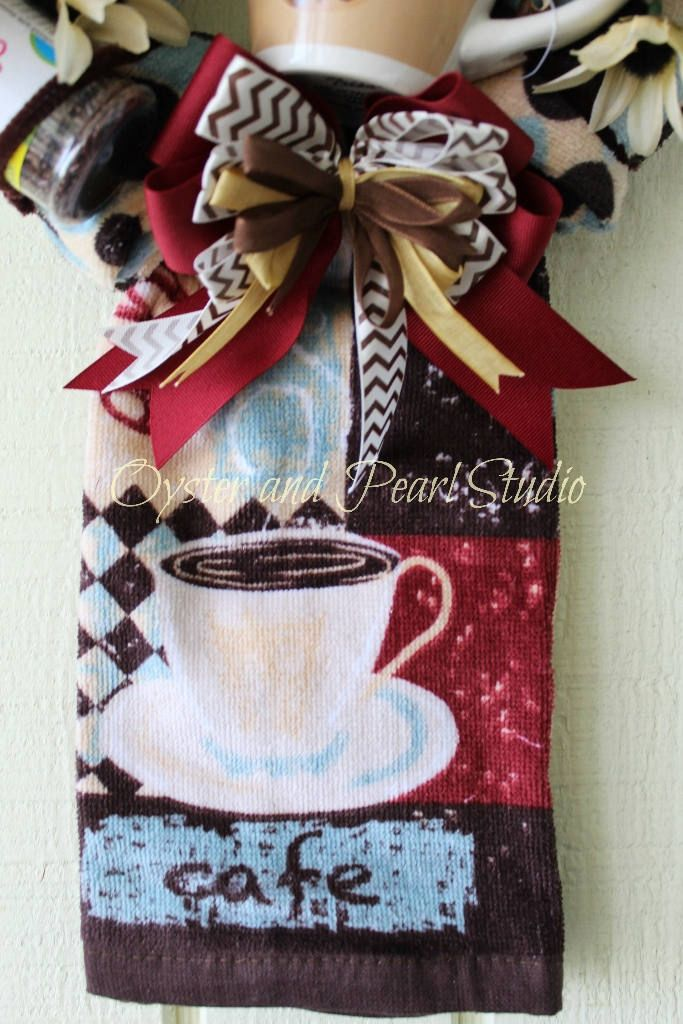 Excited to share the latest addition to my #etsy shop: Coffee Lover Kitchen Wreath, Fall Wreath, Housewarming Wreath, Shower Wreath, Gift Wreath, Dorm Wreath, Holiday Wreath, Wedding Wreath
