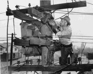 60 Best Images About History Of The Electrical Lineman On