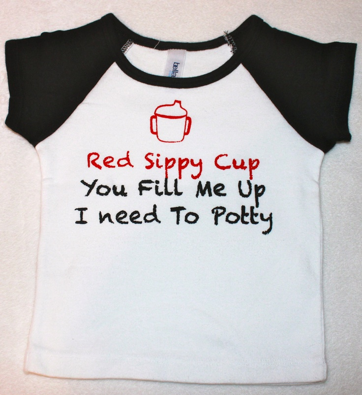 Cute Funny Infant Shirt Red Sippy Cup Kid Shirt or Red Solo Cup Baby Child Tshirt Boy or Girl Onesie Party Drink. $11.50, via Etsy.