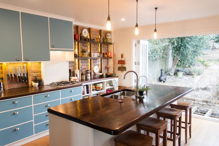 New Kitchen In 1950 39 S Renovated Ex State House Kitchens Pinterest New Kitchen House And