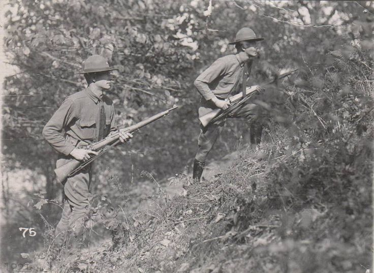 West Virginia State Troopers armed with M1903 Springfield