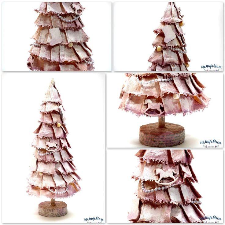 Choinka mix media - Christmas Tree