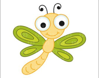 dragon fly clipart &