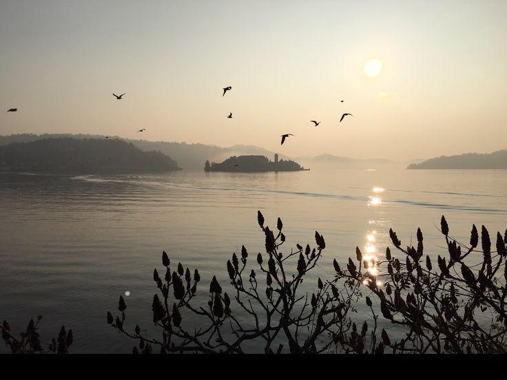 Lake Orta - Italy - Sunset