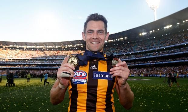 Luke Hodge joins Hawthorn greats by winning second Norm Smith Medal.