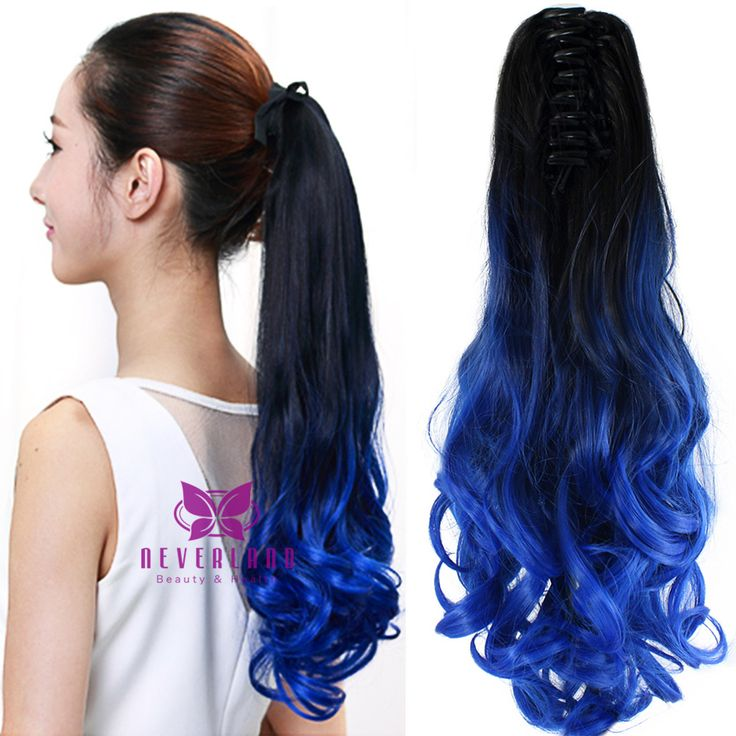 blue hair styles 7 best hair images on 1525 | 938a1cc1d3dd4b49ff9e194ef7807669 wavy ponytail ponytail hair extensions