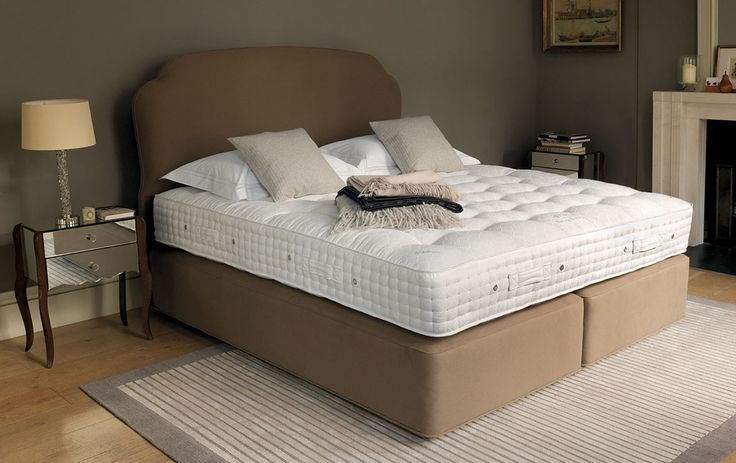 VISPRING Sublime Superb | #luxury #bespoke #beds #mattresses #cashmere #wool #organic #cotton #comfort #sleep