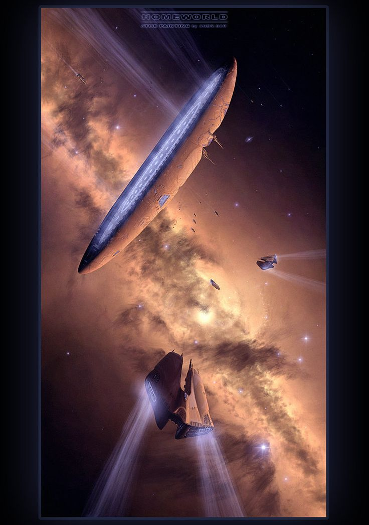 HOMEWORLD - The Painting by Andr-Sar on DeviantArt
