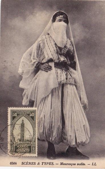 Moorish woman.