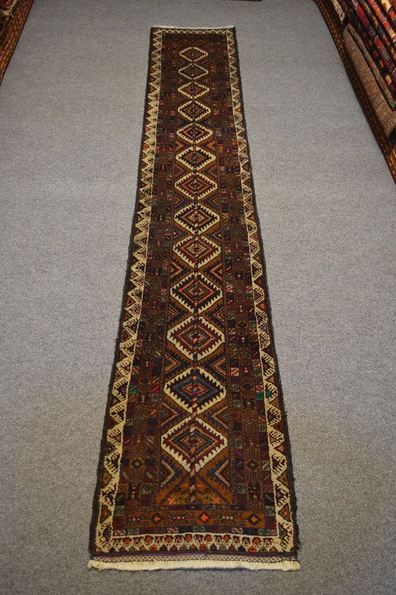 Vintage Afghan Unique Rug Runner tribal rug traditional rug afghan rug runner