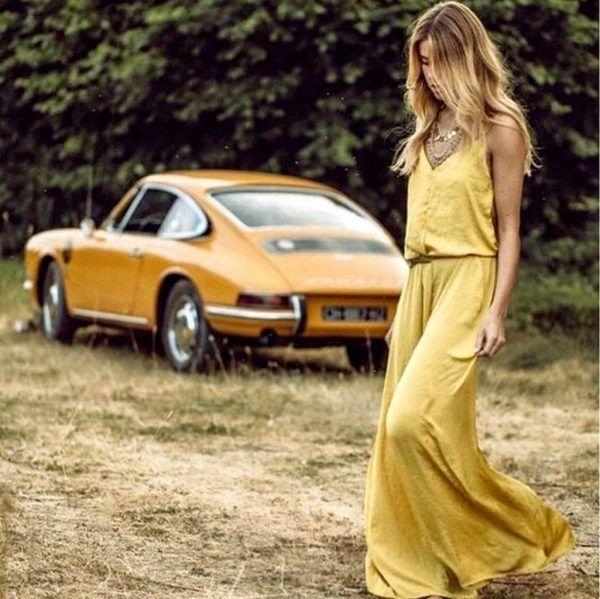 Classic Cars And Girls Woman Beautiful 26