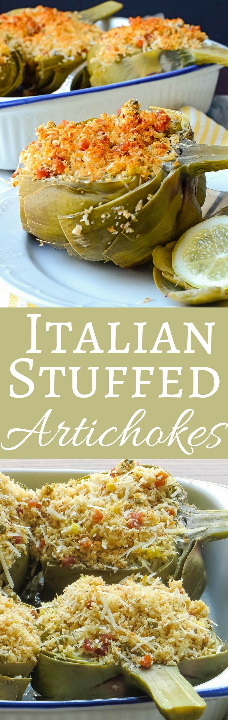 Artichokes are simple to prepare, once you know how. This easy recipe takes it step by step!