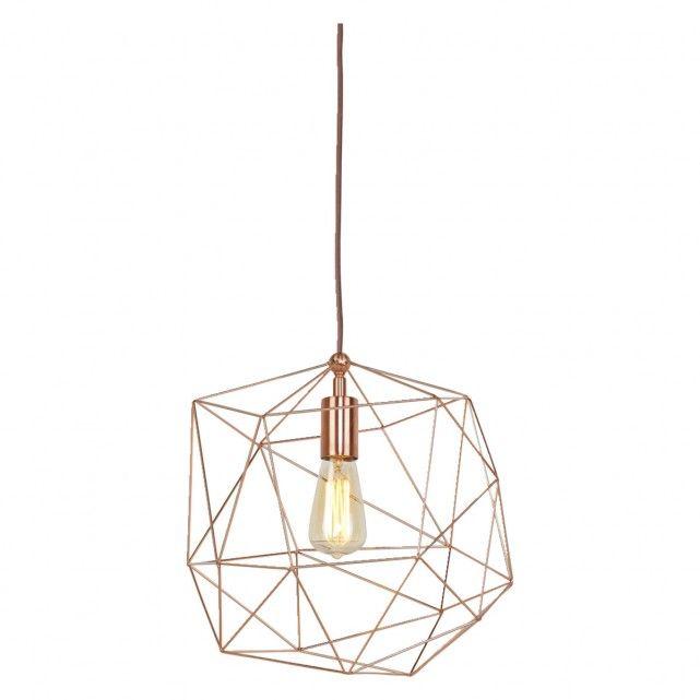 COPENHAGEN Copper metal ceiling light