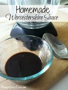 How to Make Homemade Worcestershire Sauce Recipe (use this recipe for faux fish sauce: http://www.thekitchn.com/recipe-vegan-fish-sauce-130535)