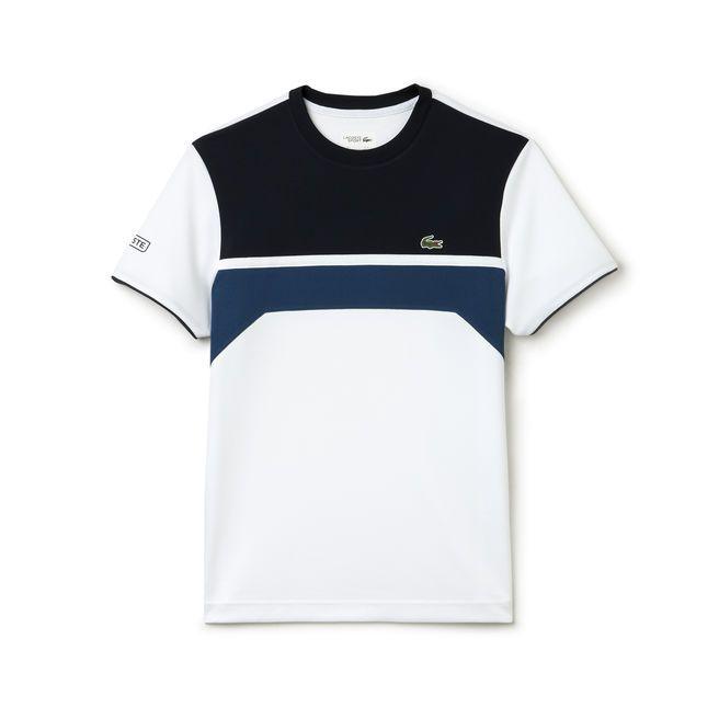T-shirt color block Tennis Lacoste SPORT en piqué résistant