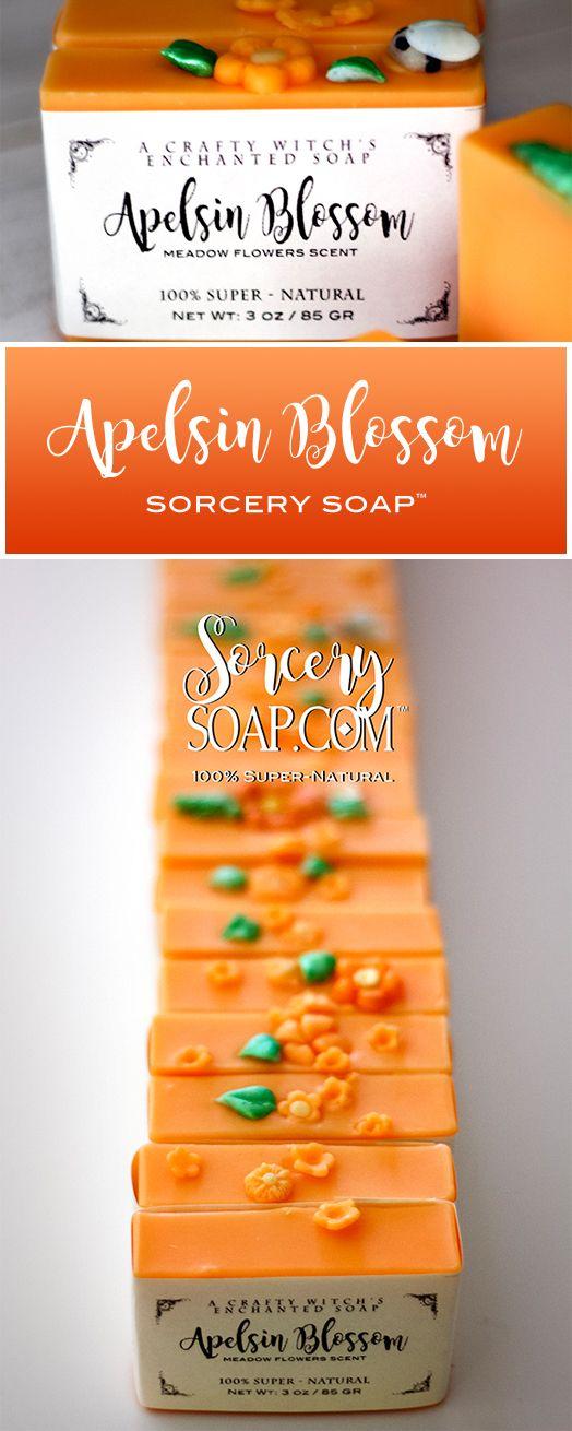 Apelsin Orange Soap #sorcerysoap #orangesoap #soapdough http://sorcerysoap.com