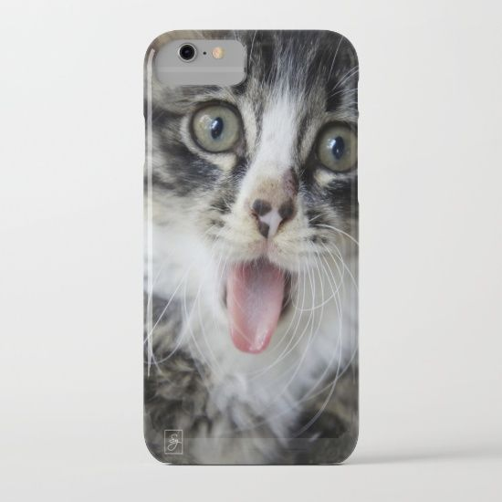 """iPhone 7 + 7 Plus Cases Available for Presale - Get $5 Off + Free Shipping on All Cases with code """"S6CASES"""" #iphone7 #phonecase #society6 #cat #kitten #cute #animal #pet #photography"""