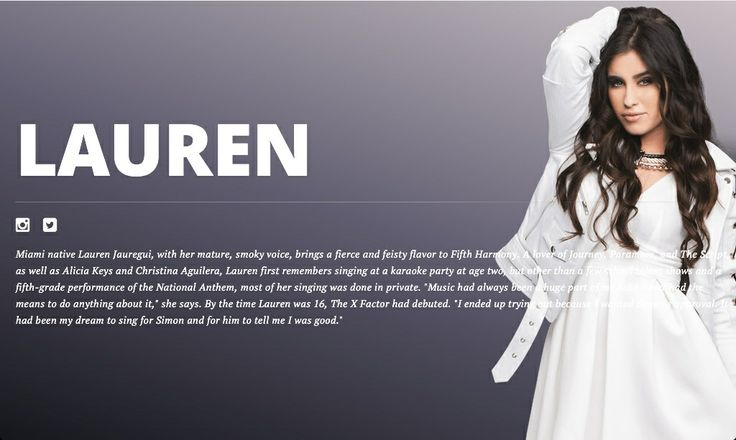 Lauren Michelle Jauregui-biography
