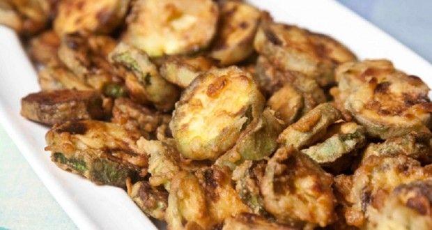 κριτσανιστά τηγανητά κολοκυθάκια με το μυστικό κουρκούτι της Σωσώς - Pandespani.com