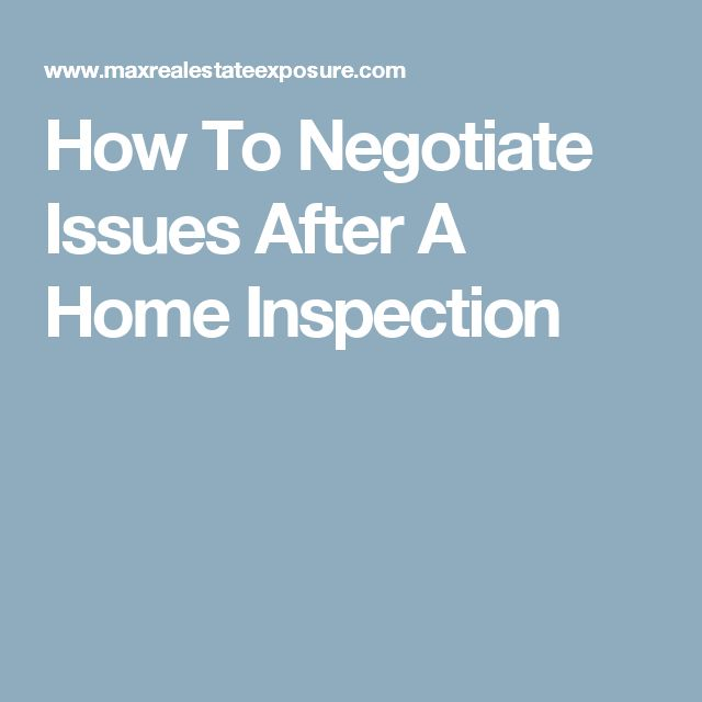 Negotiating After Home Inspection best 10+ home inspection ideas on pinterest | house inspection