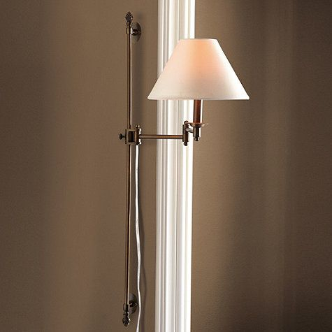 Adjustable Wall Sconce With Switch : Brady Adjustable Sconce USD 99 Brooks Branch Future Vision Pinterest