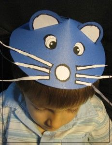 Mouse mask type hat - craft