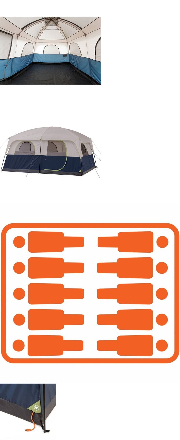 Tents 179010: Ozark 10 Person Tent Trail Camping Cabin Family 14 X 10 Insulated Waterproof -> BUY IT NOW ONLY: $182.65 on eBay!
