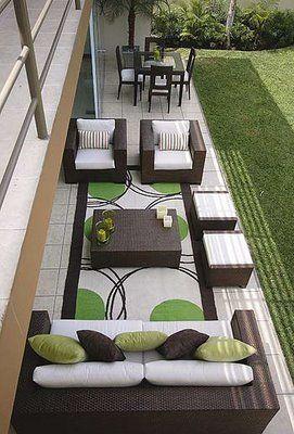 terraza angosta