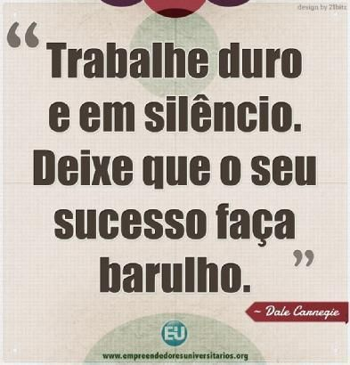 O sucesso tem seus silêncios