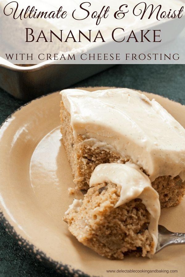 Best 25+ Moist banana cake recipe ideas on Pinterest ...