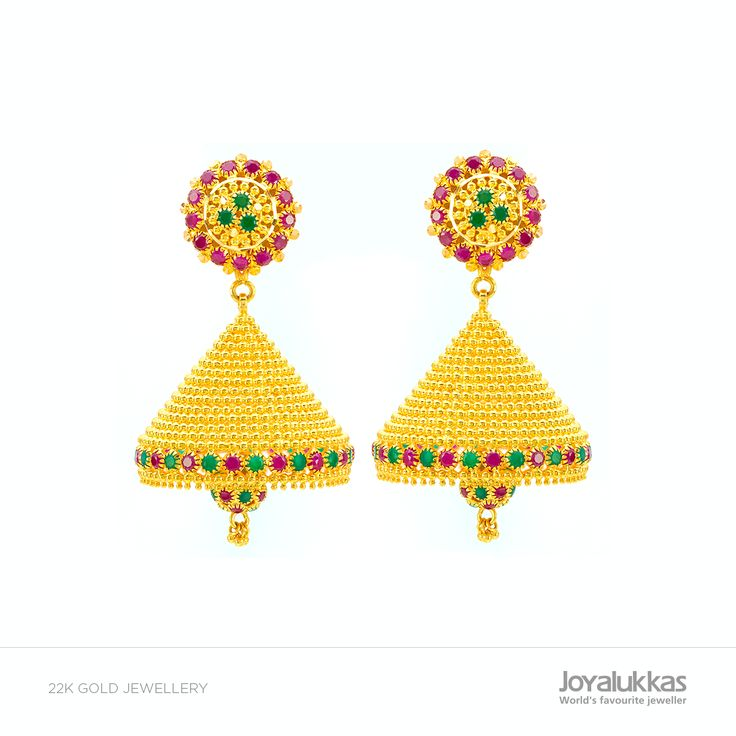 THE GREAT JHUMKA FEST COLLECTIONS! Weight: 33.110gm Approximate Price: Rs 1,00,511 (as today's gold rate)