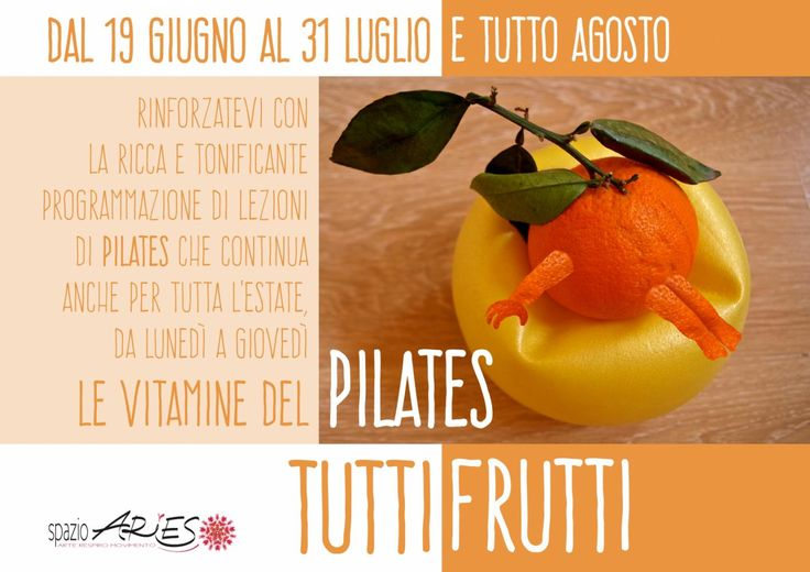 #pilates tutta l'#estate ! anche in #agosto per chi resta a Milano! infoòpsazioaries.it - 0287063326 - 3420175218