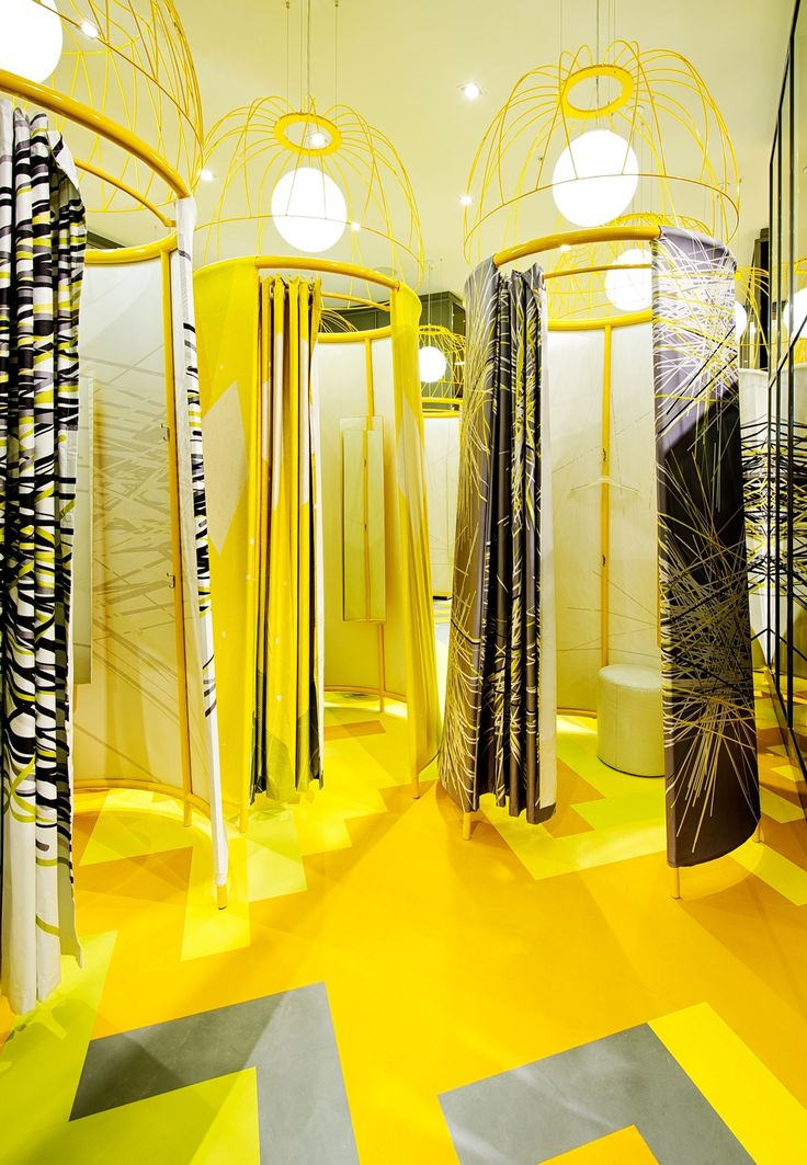 Fitting Room Designs For Retail: 17 Best Images About Changing Rooms On Pinterest