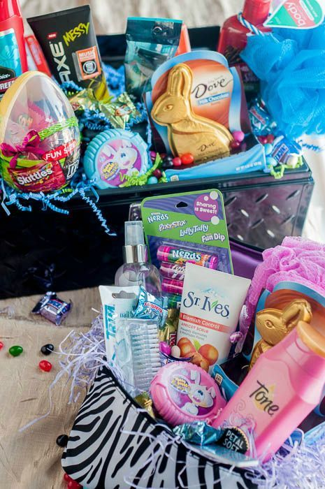 82 best easter images on pinterest easter easter basket ideas ad super creative easter basket ideas for older kids and teens check negle Choice Image