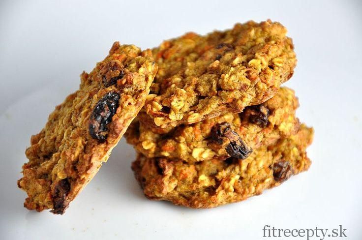 Mrkvovo jablkové fit cookies alebo chlieb bez pridania múky, cukru a tuku - FitRecepty