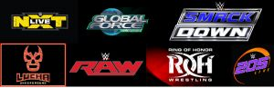 LIVE FREE STREAMS!!!!! WWE, ROH, LUCHA UNDERGROUND, IMPACT AND MORE!!!! WITH CHAT