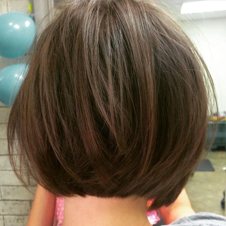 """Soft laying undercut textured bob ~ #razorcut #finehair #texture Cut by Marissa"""