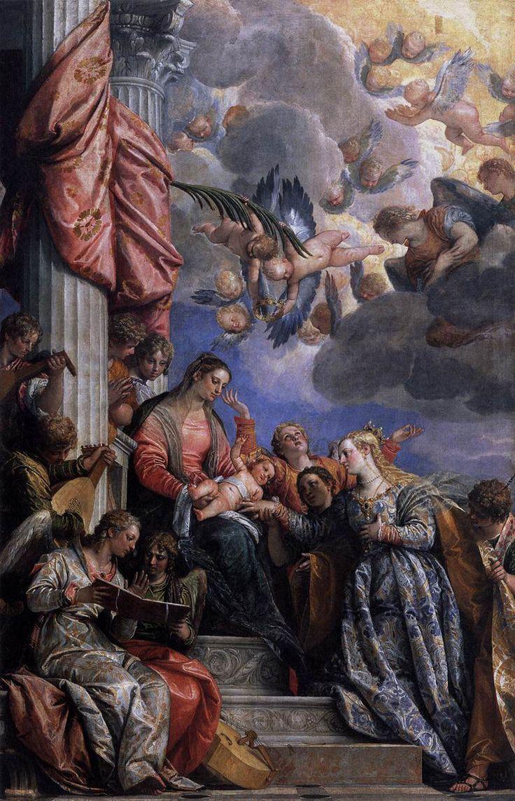 .:. Paolo Veronese, Matrimonio mistico di Santa Caterina, Venezia, Gallerie dell'Accademia