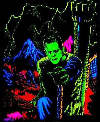 Quot Frankenstein Quot Rare Horror Movie Art Monster Art