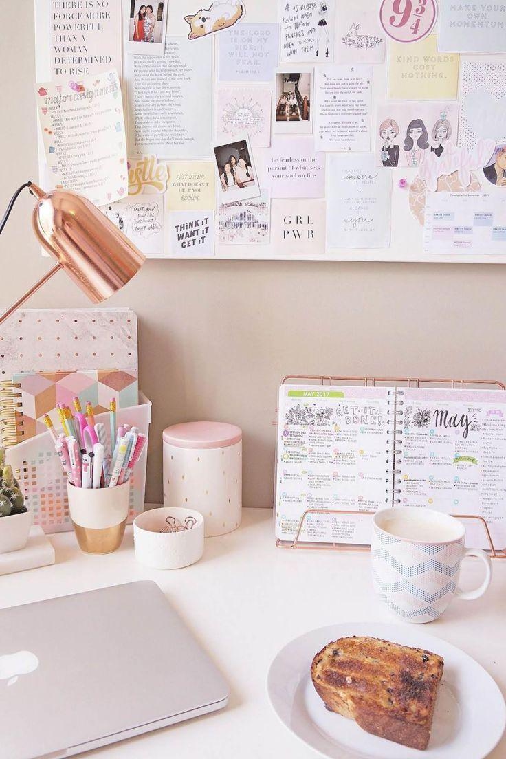 Organizadores de escritorio tan bonitos que querrás ir a trabajar