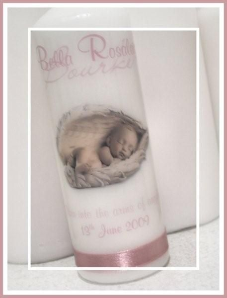 www.reneescandles.com  Personalised Memorial candle - By Real Creative / Renee's Candles